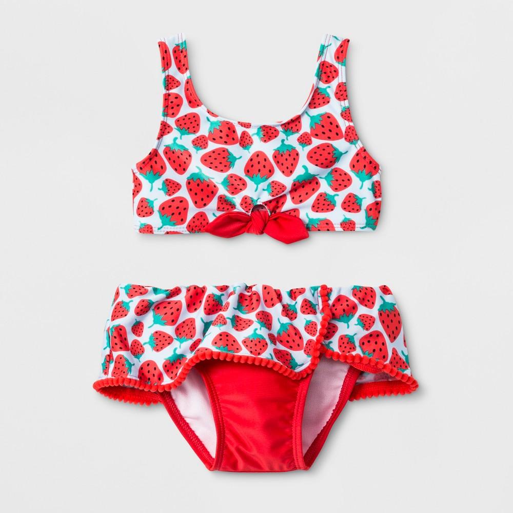 Xhilaration Pink High Neck Fringe Floral Bikini 2-Pc.Set Swimwear Girls XS,S,M
