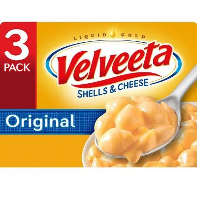 Velveeta Shells & Cheese Original - 36oz/3pk