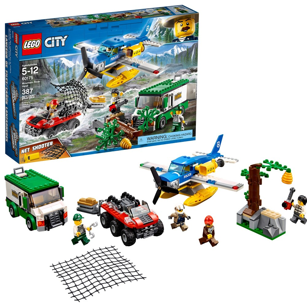 Lego City Police Mountain Headquarters 60174 From 7199 Nextag 7744 River Heist 60175