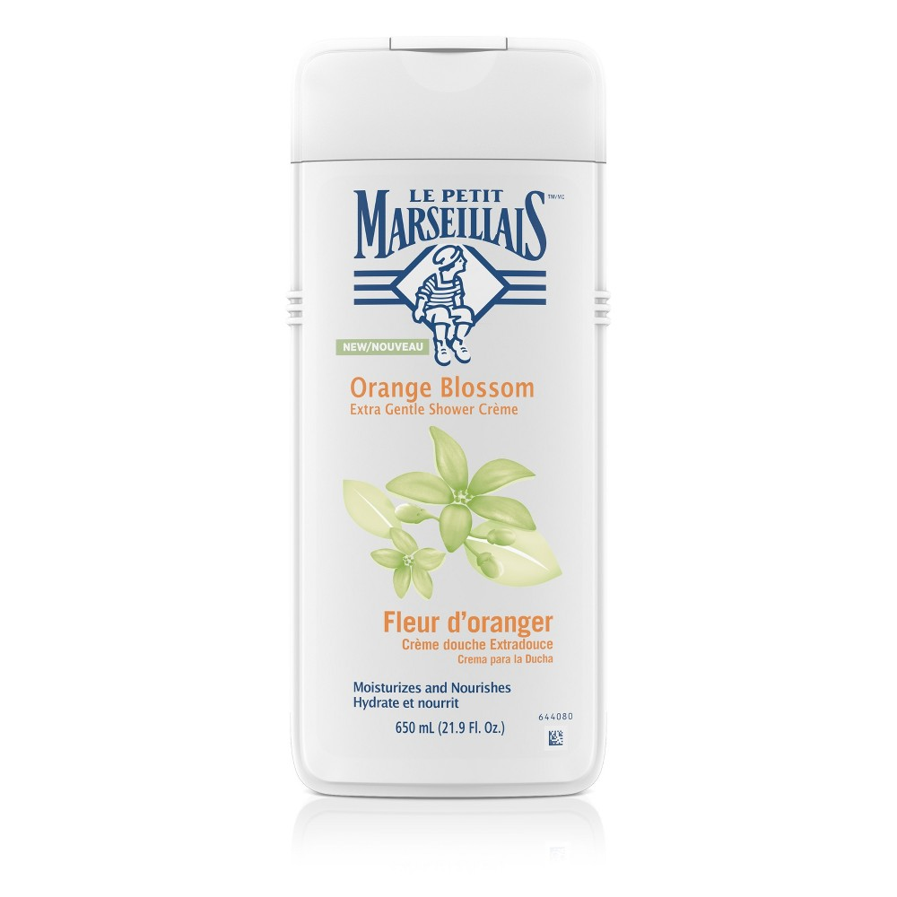 Le Petit Marseillais Extra Gentle Shower Cream Orange Blossom Body Wash - 22oz
