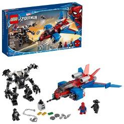 LEGO Marvel Spider-Man Spider-Jet vs Venom Mech 76150 LEGO Superhero Set