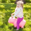Farm Hoppers Inflatable Bouncing Pink Pig - image 2 of 3
