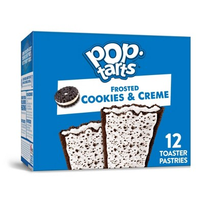 Kellogg'sPop-Tarts Frosted Cookies & Crème Pastries - 12ct/20.31oz