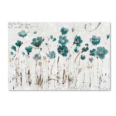 Abstract Balance VI Blue' by Lisa Audit Ready to Hang Canvas Wall Art