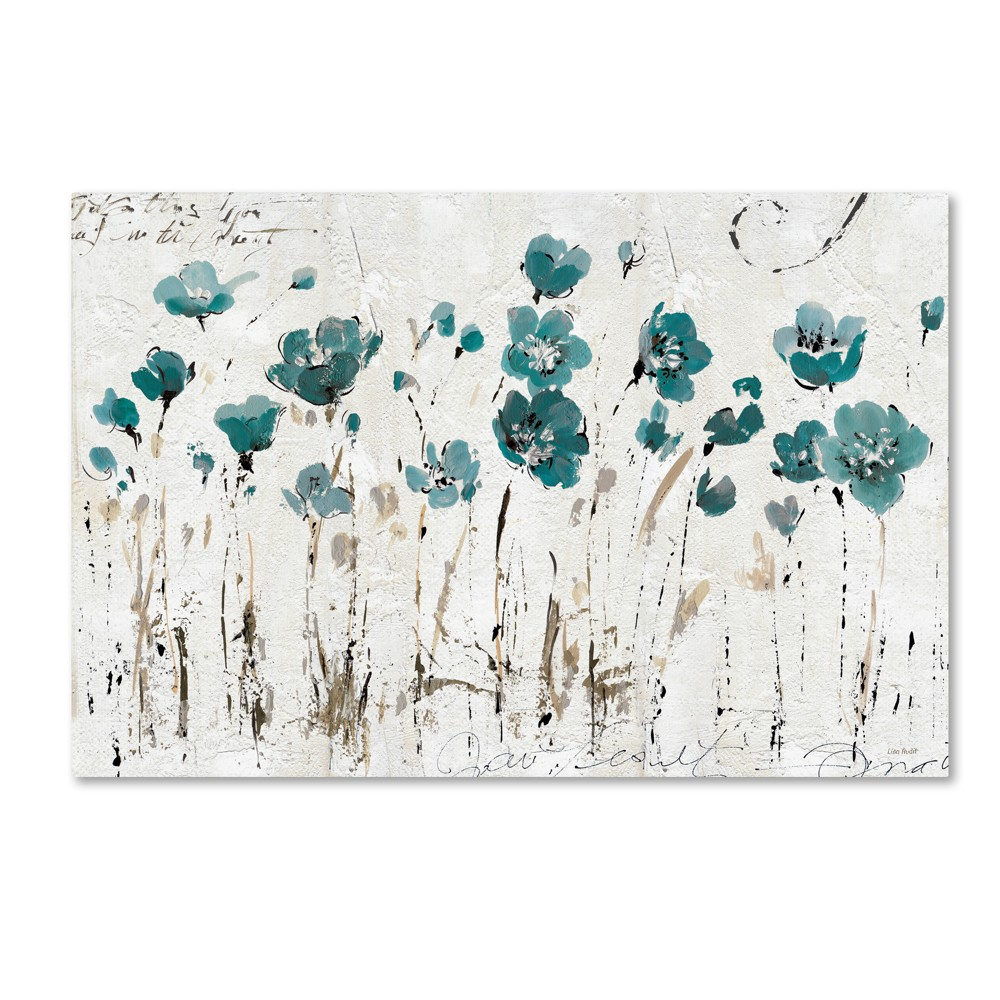 Image of Abstract Balance by Lisa Audit Wall Art Turquoise - Trademark Fine Art