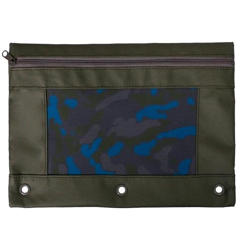 Pencil Case Camo - Cat & Jack™ Green - image 1 of 2