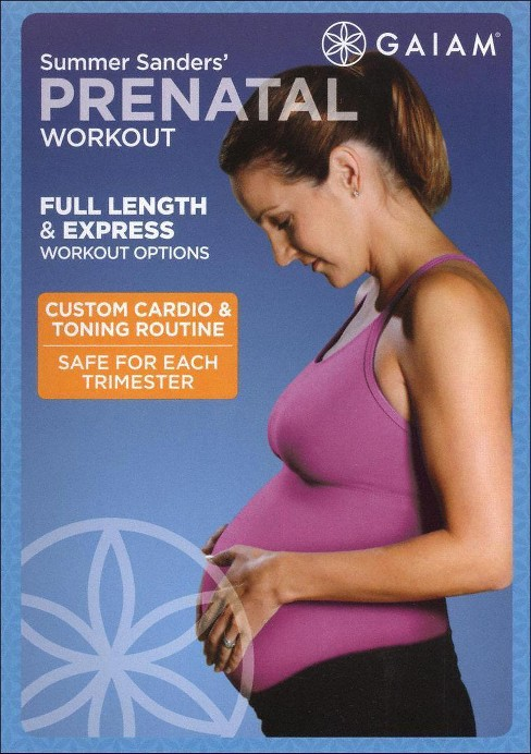 Summer sanders prenatal workout (DVD) - image 1 of 1