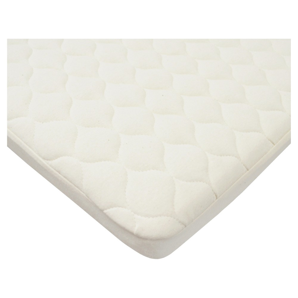 Tl Care Waterproof Quilted Pack N Play Playard Mattress Cover With Organic Cotton Top Layer Natural