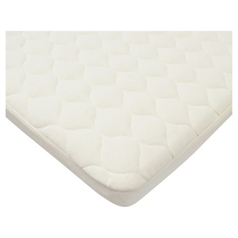 TL Care Waterproof Quilted Pack n Play Playard Mattress Cover with Organic Cotton Top Layer - Natural - image 1 of 1