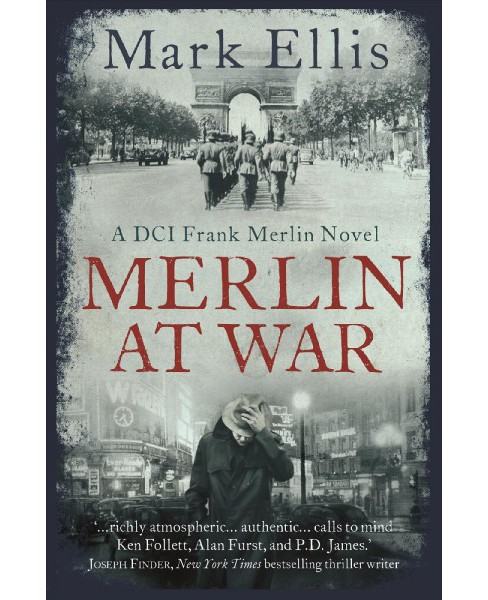 Merlin at War : A Dci Frank Merlin Novel (Hardcover) (Mark Ellis) - image 1 of 1