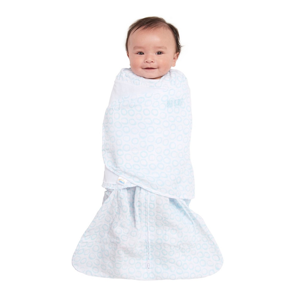 halo wearable blanket and swaddle