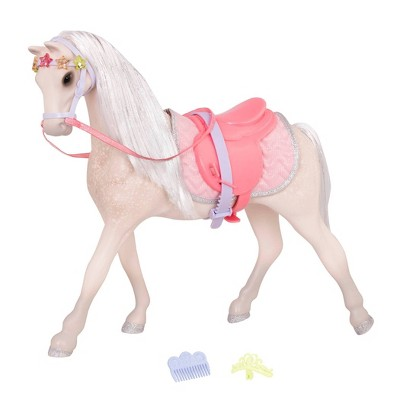 """Glitter Girls Starlight 14"""" Horse with Tiara Accessory Set for 14"""" Dolls"""