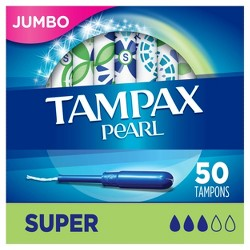 Tampax Pearl Super Absorbency Tampons