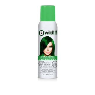 Jerome Russell B wild Temporary Hair Color Spray - Green - 3.5oz