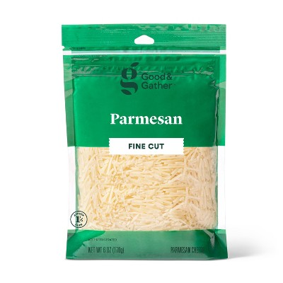 Finely Shredded Parmesan Cheese - 6oz - Good & Gather™