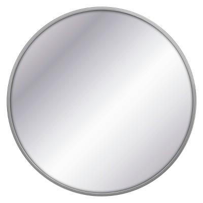 Decorative Wall Mirror Gray - Project 62™