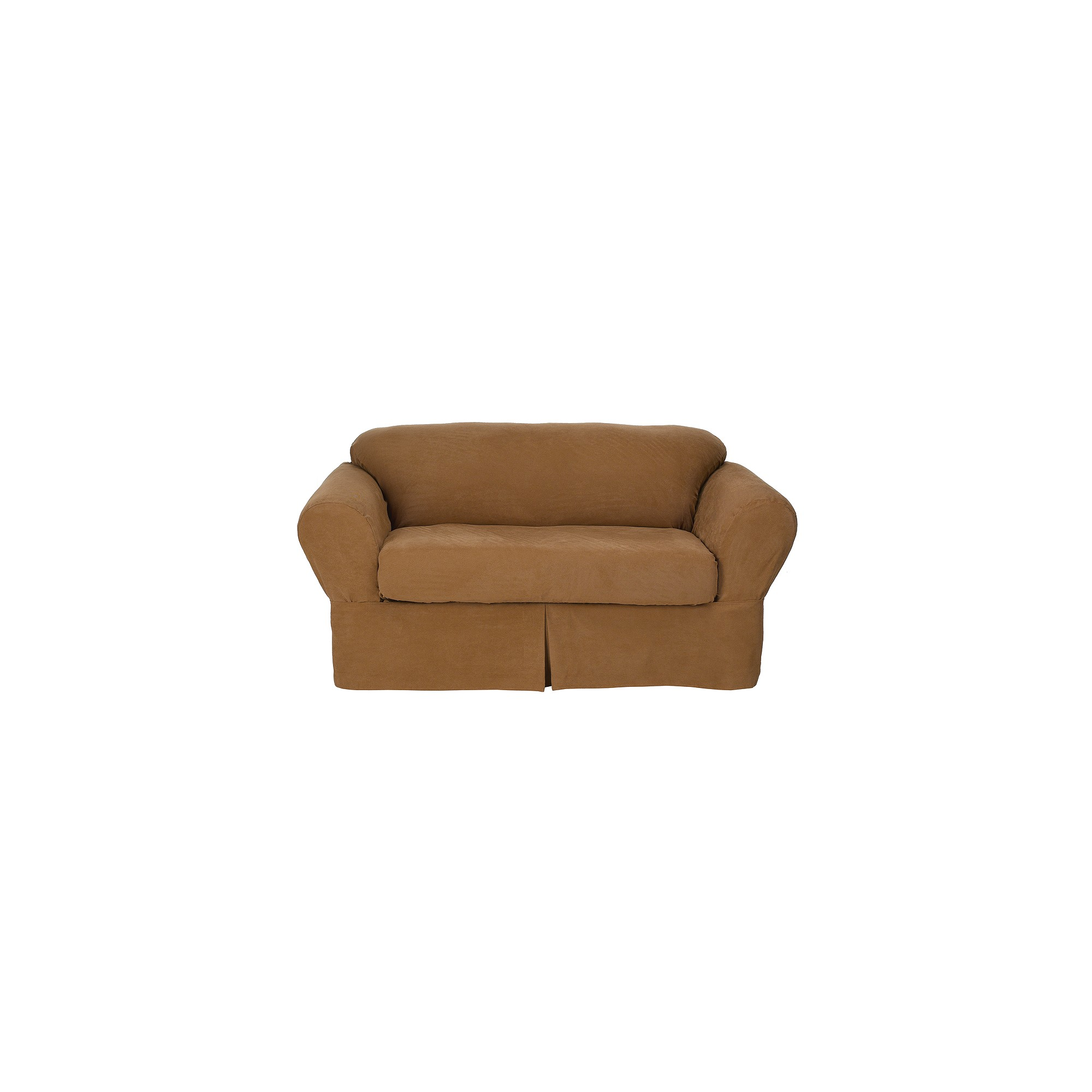 Dusty Fig 2 Piece Loveseat Slipcover