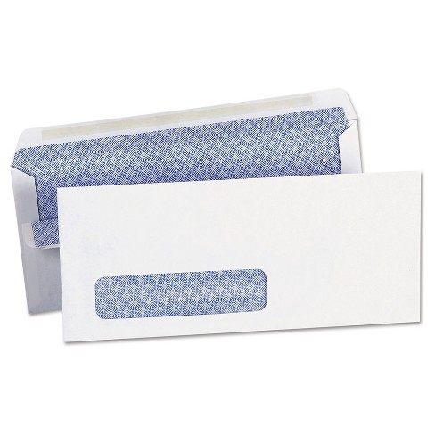 Peel And Seal Envelopes White Universal Office - image 1 of 2