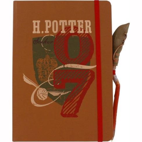 Seven20 Harry Potter Seeker Journal w/ Firebolt SDCC Exclusive Pen - image 1 of 2