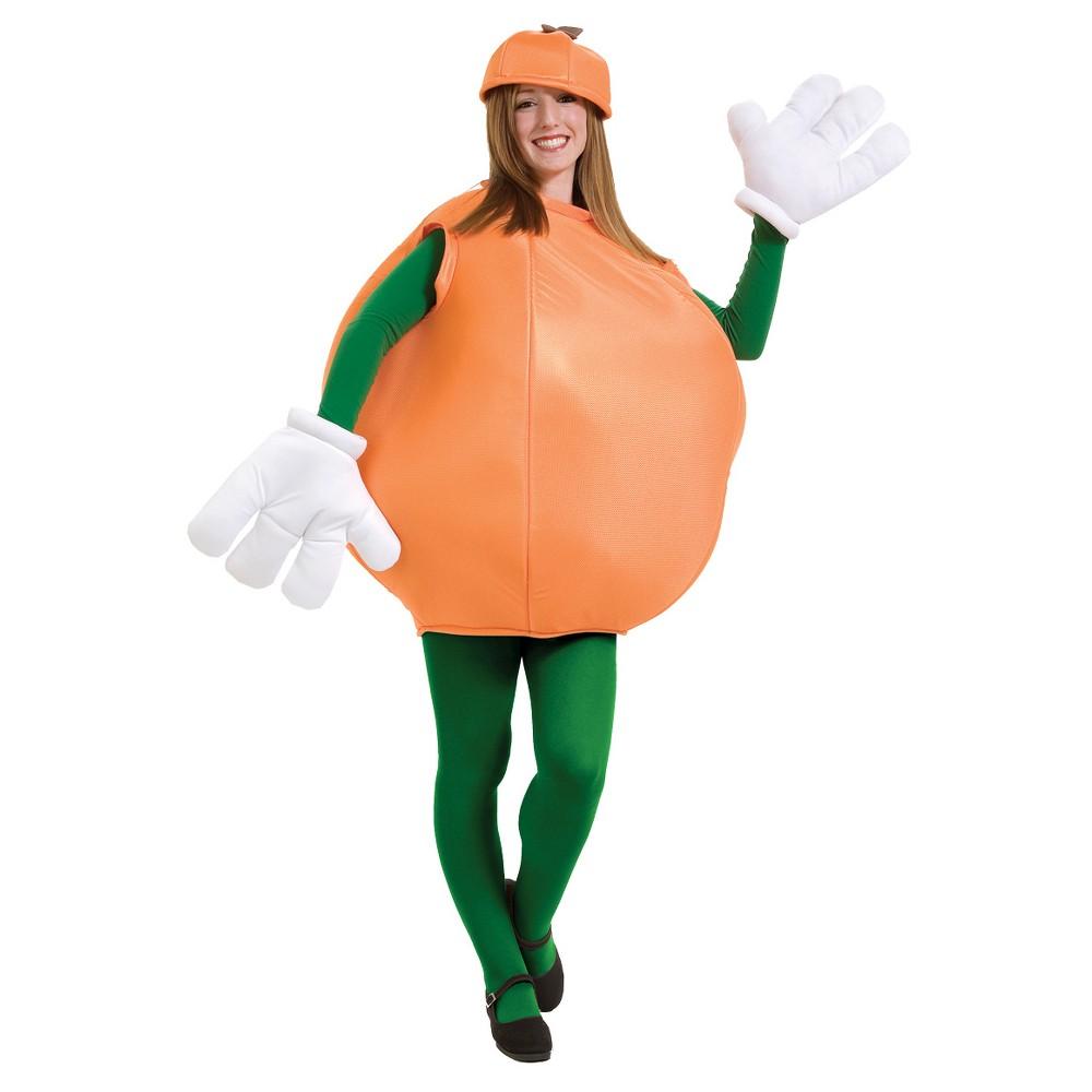 Adult Orange Costume One Size, Adult Unisex