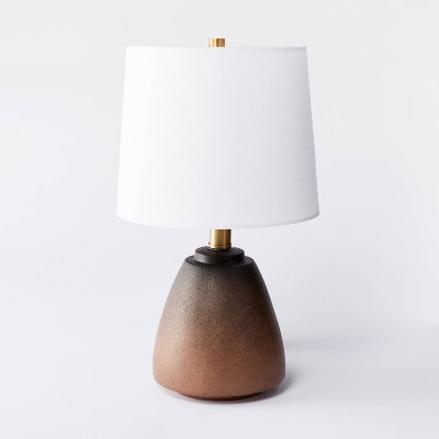 Small Assembled Table Lamp Brown - Threshold™ designed with Studio McGee