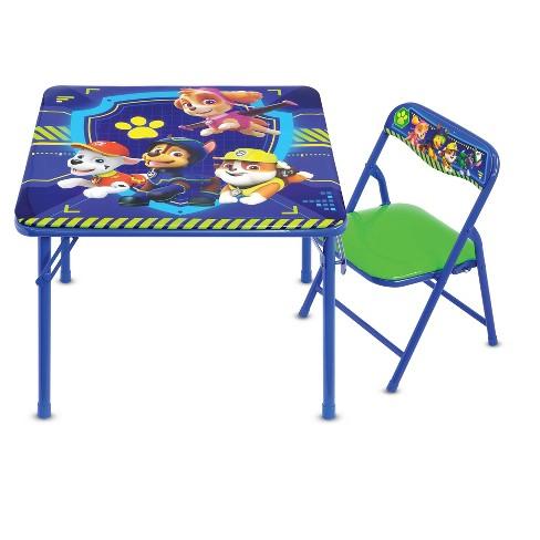 Paw Patrol Jr Activity Table Set