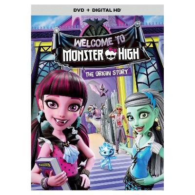 Monster High - Welcome to Monster High (DVD)