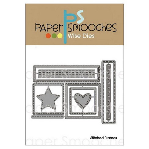 Paper Smooches Die Stitched Frames - image 1 of 1