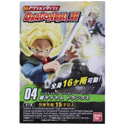 Bandai Dragon Ball Super Power 66 Mini Figure | Super Saiyan Trunks