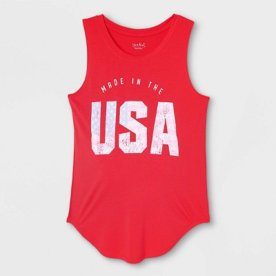 Maternity Americana Graphic Tank Top - Isabel Maternity by Ingrid & Isabel™