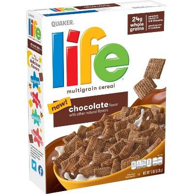 Quaker Life Chocolate Cereal - 13oz