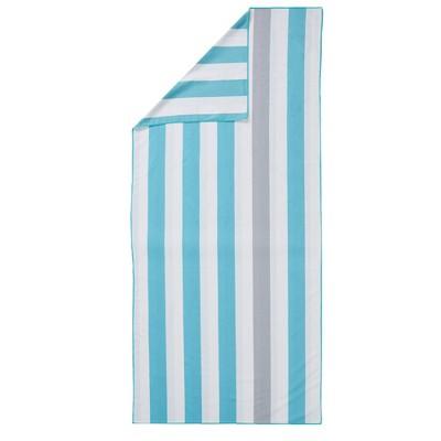 Great Bay Home Reversible Microfiber Beach Towel