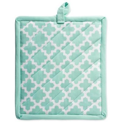 2pk Cotton Lattice Potholder Set - Design Imports