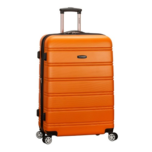 "Rockland Melbourne 28"" Expandable Hardside Spinner Suitcase - Orange - image 1 of 4"