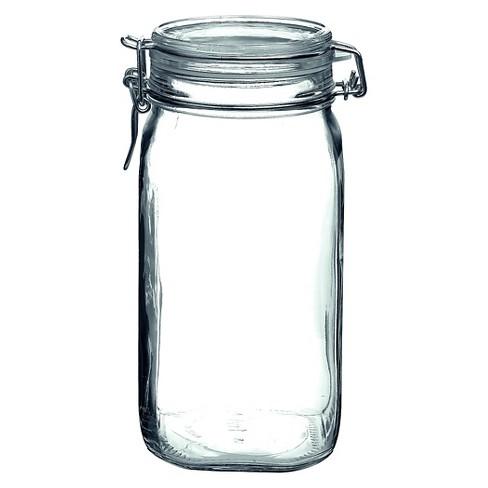 Bormioli Rocco Fido 50.75oz Square Jar - Clear - image 1 of 1