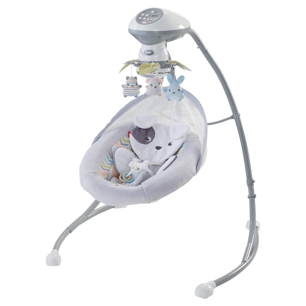 Image of Fisher-Price Sweet Snugapuppy Dreams Cradle 'n Swing