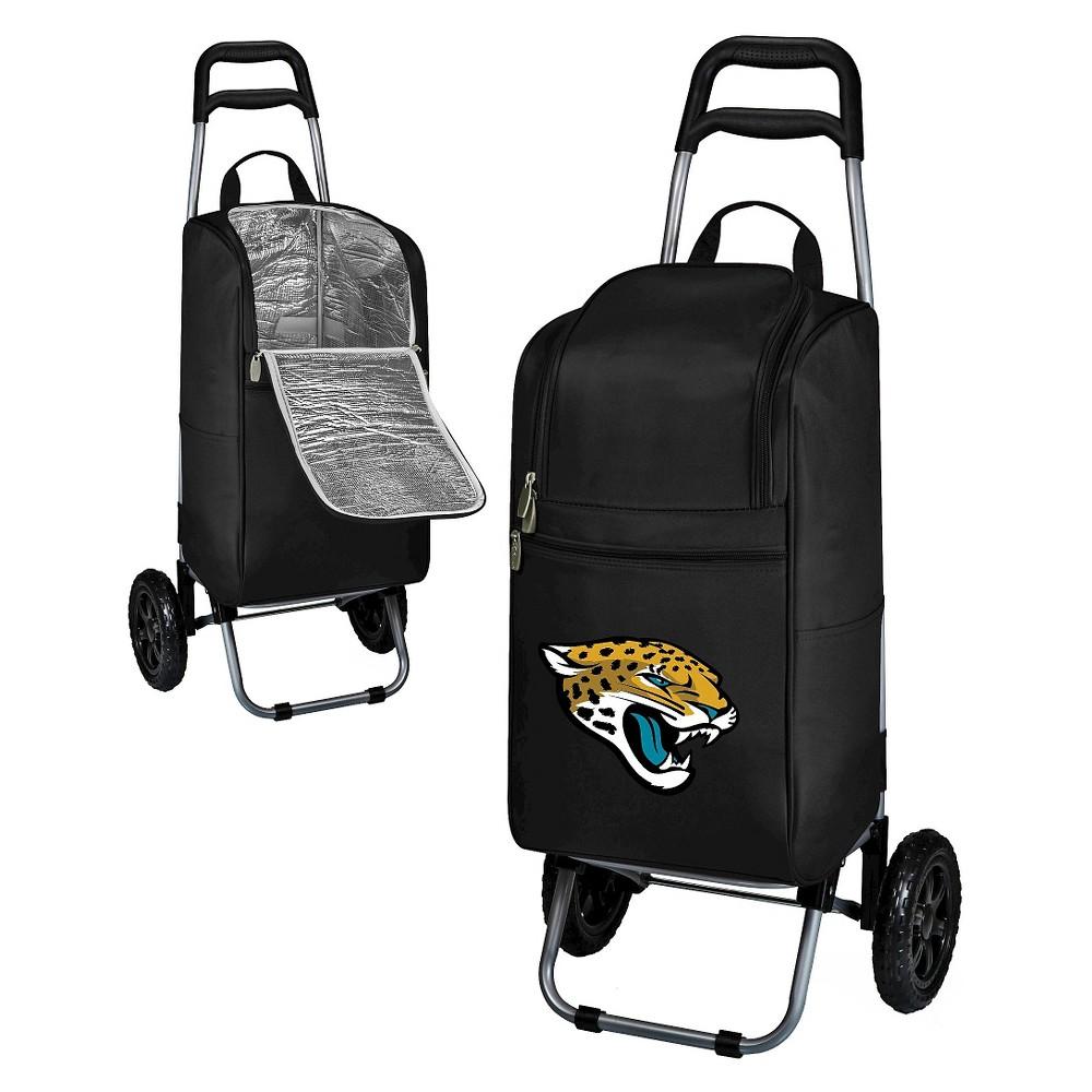 Jacksonville Jaguars Cart Cooler by Picnic Time - Black