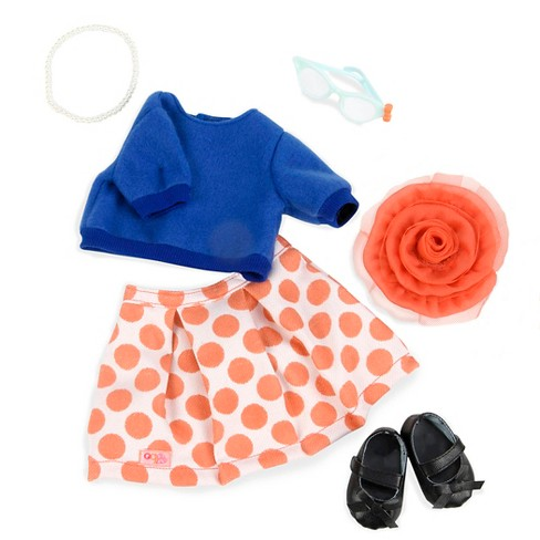 Our Generation® Retro Deluxe Outfit - Dashingly Dotty™ - image 1 of 4