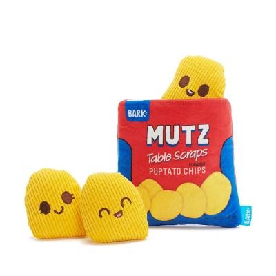BARK Potato Chips Dog Toy - Mutz Puptato Chips