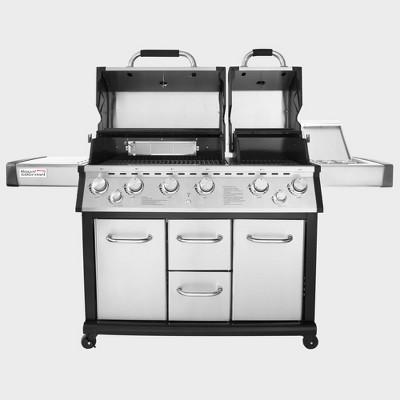 6 Burner Gas Grill with Infrared Burner Model MG6001-R - Royal Gourmet