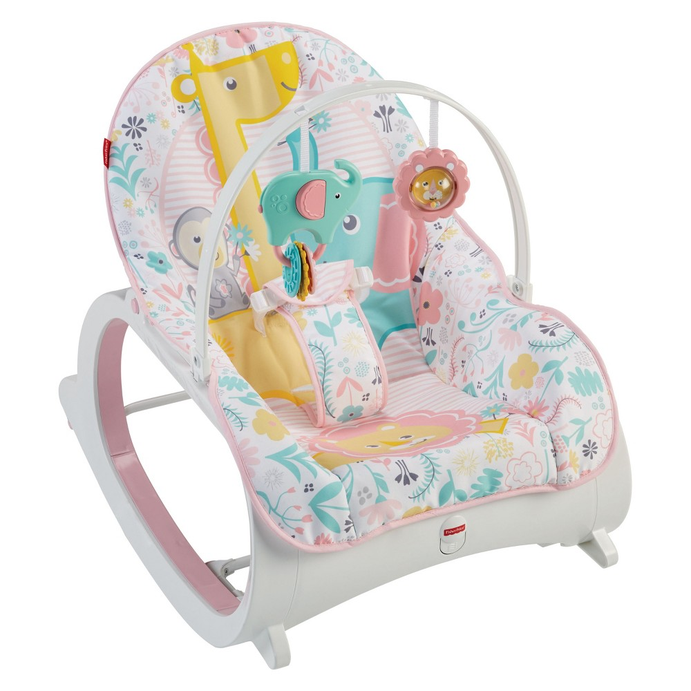 Fisher-Price Infant-to-Toddler Rocker - Tiny Tea Time