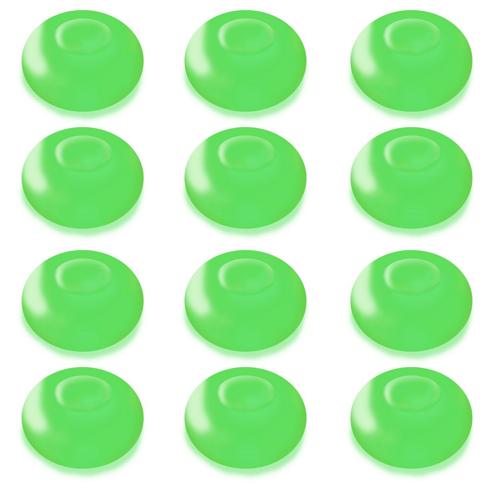 12ct Lumabase Green Battery Operated Floating Blimp Led Lights