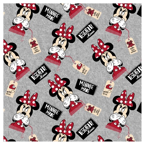 Designed by Minnie Jersey Knit Fabric by the Yard - image 1 of 1