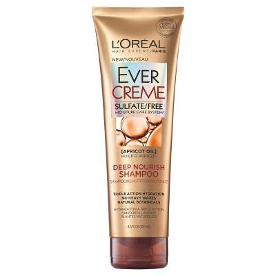 Shampoo & Conditioner: L'Oreal Paris EverCreme