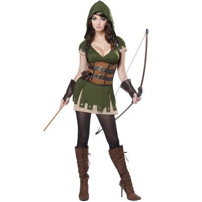 California Costumes Lady Robin Hood Adult Costume