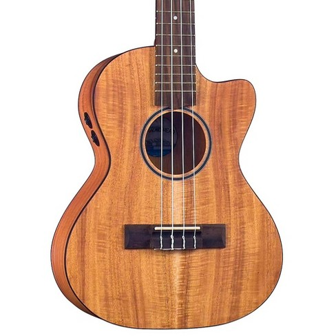 Diamond Head DU-350TCE Tenor Acoustic-Electric Ukulele Natural - image 1 of 5