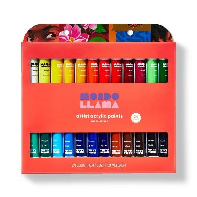 24ct Artist Acrylic Paints - Mondo Llama™