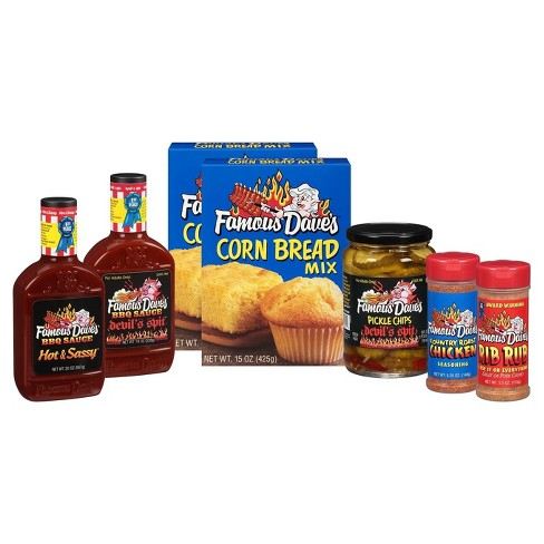 Famous Dave's® 'Hot' Variety Gift Pack - 9lb - image 1 of 2