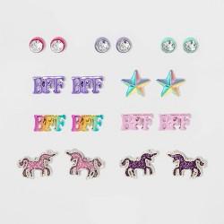 Girls' 9pk BFF Earring Set - Cat & Jack™