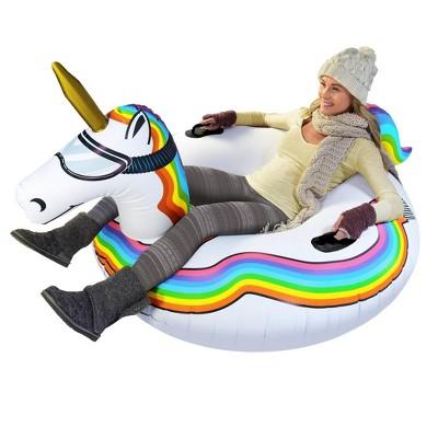 GoFloats Unicorn Snow Tube
